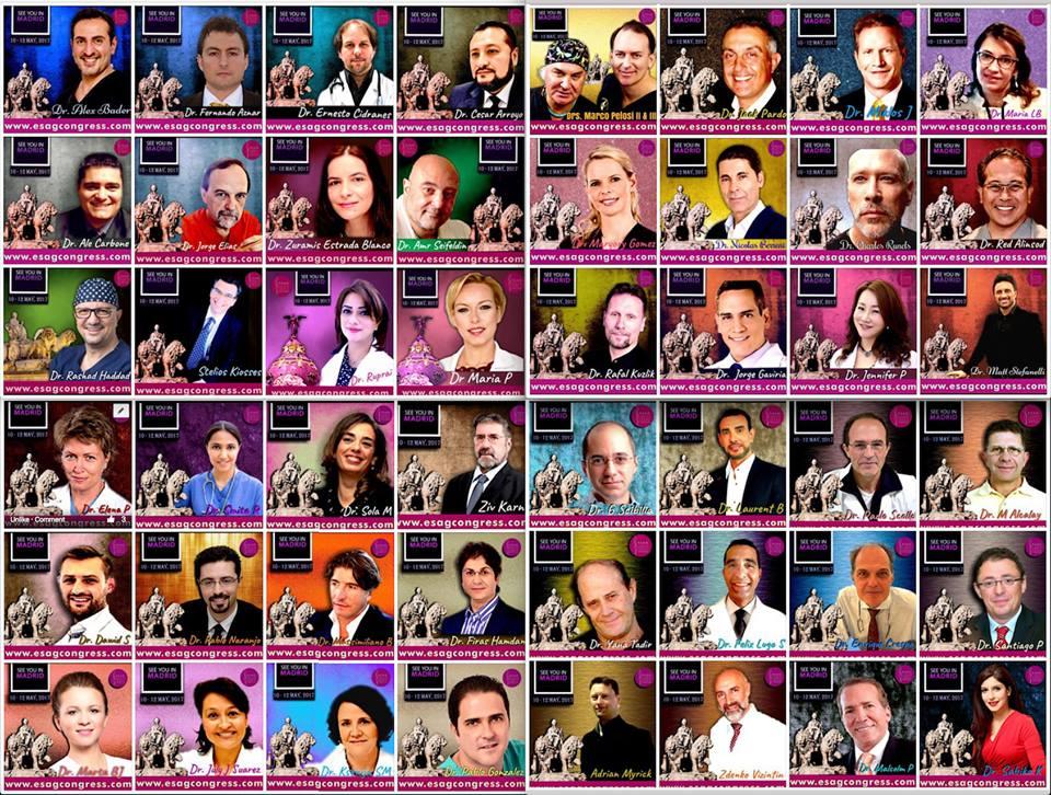 SEGERF en el ESAG WORLD CONGRESS MAY 10/11/12 Madrid 2017