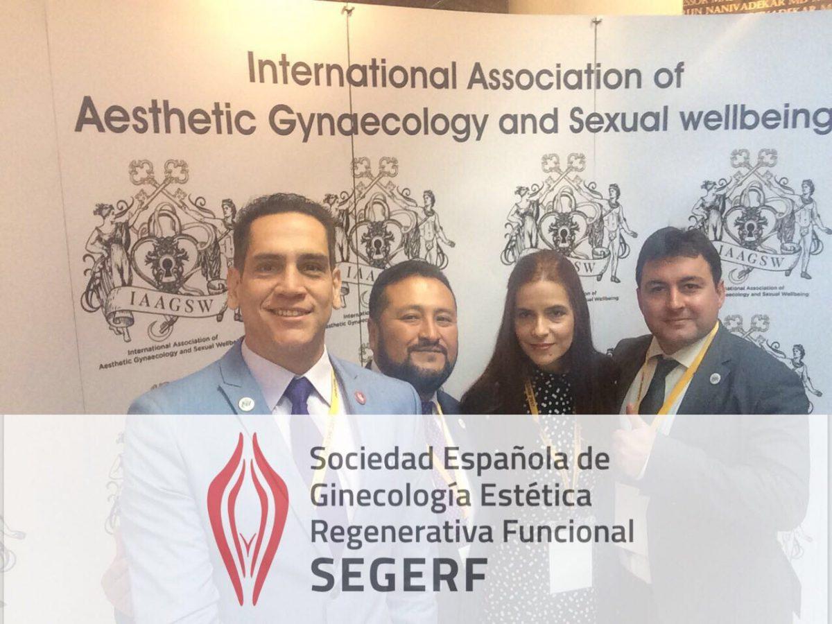 SEGERF estuvo presente en el  I Congreso Internacional de INTERNATIONAL ASSOCIATION of AESTHETIC GYNECOLOGY and SEXUAL WELLBEING, ( IAAGSW )
